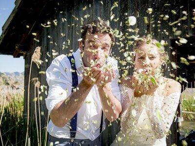 Heiraten in der Natur: ein gestyltes Shooting am schönen Weißensee