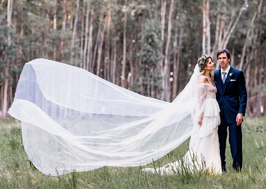 Beatriz & Ricardo: casamento boho em meio a um lindo bosque de eucaliptos no Uruguai