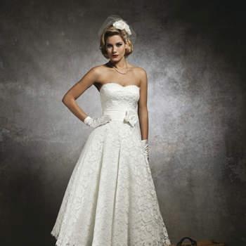 Vestido de noiva Justin Alexander 2013: inspiração vintage.