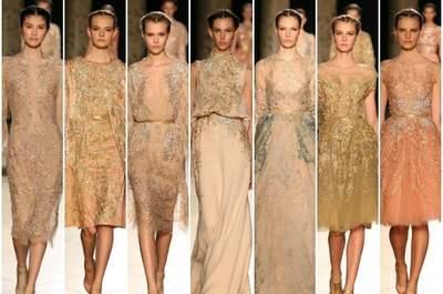 Elie Saab presenta a Parigi la sua collezione Haute Couture per la sposa