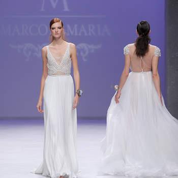 Marco Maria. Barcelona Bridal Fashion week.