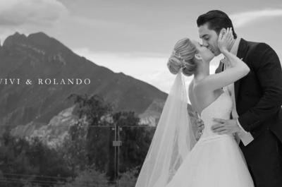 Si hay que vivir una vez... ¡Que sea contigo!: La boda de Vivi y Rolando