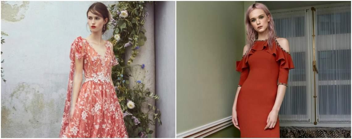 Verführerische Festmode in Rot: Feurige Outfits für Hochzeitsgäste