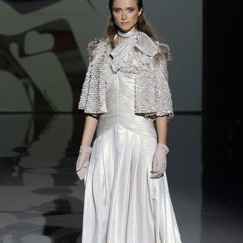 Isabel Zapardiez Credits: Barcelona Bridal Fashion Week
