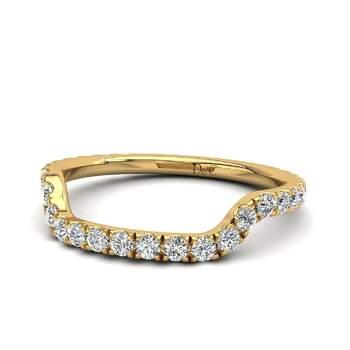 Photo : Diamants et Carats - Modèle : Lucie en or jaune