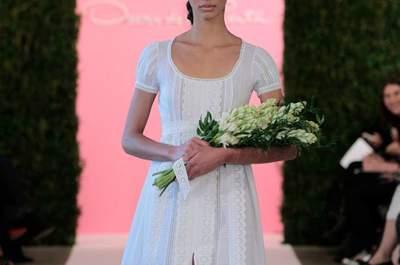 Vestidos de novia Óscar de la Renta 2015