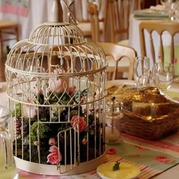 Décoration de table. Photo : Jaybird Flowers