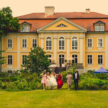 Sommerhochzeit im Schlosspark auf Schloss Stülpe