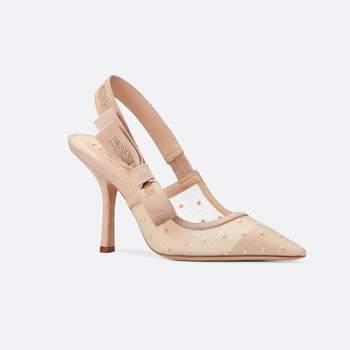 Dior - J'adior Plumetis slingback pump