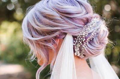 Inspire-se nos melhores penteados de noiva com véu e opte por um deles para o dia do seu casamento