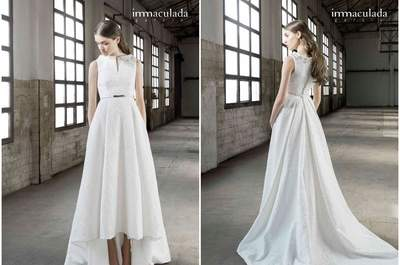 Inmaculada García's latest wedding dress collection for 2016
