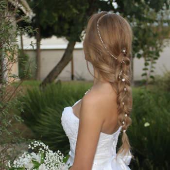 Penteado de noiva com trança | Credits: divulgação