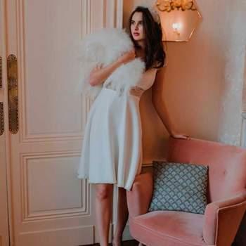 Collection Capsule, robe de mariée courte - Crédit photo: Anaïs Rueda Photographie