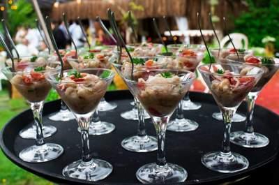Como conseguir que o buffet do seu casamento seja um dos protagonistas da festa