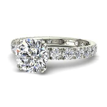 Photo : Diamants et Carats - Modèle : Valentina en or blanc