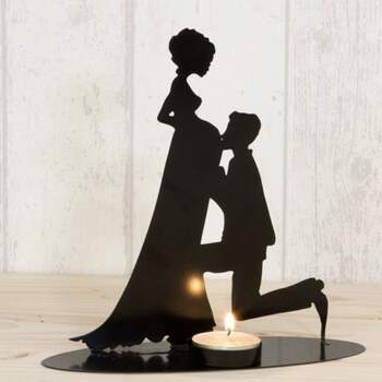 Gâteau Topper bougeoir mariée enceinte - The Wedding Shop
