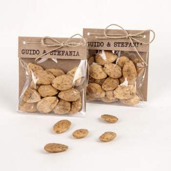 Sachet En Chanvre Amandes Épicé Au Thym -  The Wedding Shop !