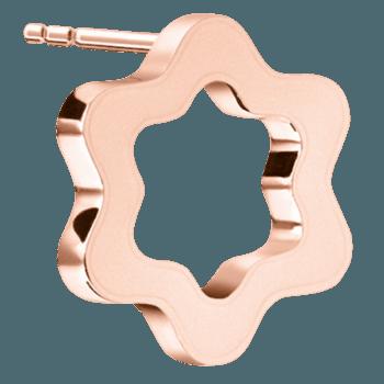 Aretes en oro rosa/ Créditos: Montblanc y G&G Joyeros