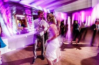Die Hochzeit von Julia und Timo: Scrabble als Hochzeitsmotto!