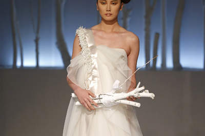 Abiti da sposa David Fielden 2016: originalità e modernità alla SI Sposa Italia Collezioni
