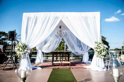 Priscila & Alexandre: casamento ao pôr do sol ULTRA sofisticado em BH