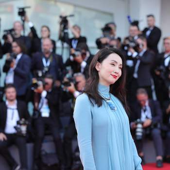 VENICE, Aug. 29, 2018  Chinese actress Tao Hong poses on the red carpet of the 75th Venice International Film Festival in Venice, Italy, Aug. 29, 2018. The 75th Venice International Film Festival kicked off here on Wednesday. (Credit Image: © Cheng Tingting/Xinhua via ZUMA Wire)