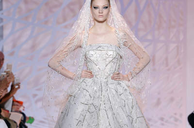 Inspirational brides from Haute Couture week in Paris