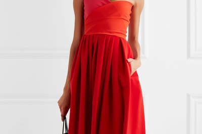 Más de 30 vestidos de fiesta rojos: un color vibrante para deslumbrar