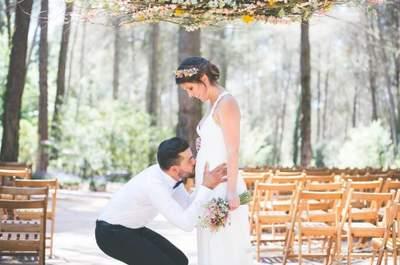 Cómo organizar tu boda cuando estás embarazada: ¡La mejor demostración de amor!