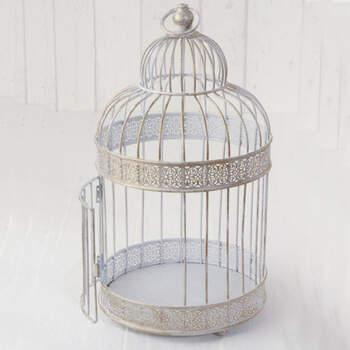 Jaula decorativa de metal- Compra en The Wedding Shop