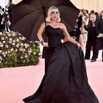 Lady Gaga de Brandon Maxwell. Credits: @sdcc_20191