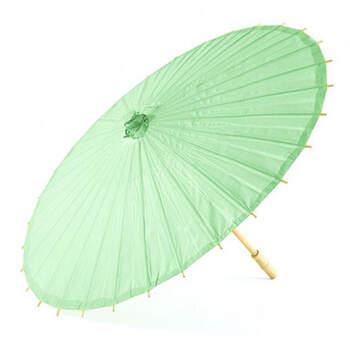 Sombrilla de bambú tiffany - Compra en The Wedding Shop