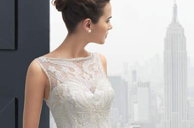 Colección Two de Rosa Clará 2015: novias urbanas y femeninas