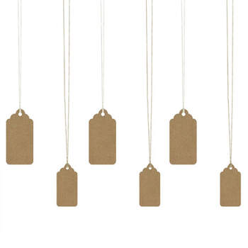 Etiquetas De Cartón 6 unidades- Compra en The Wedding Shop