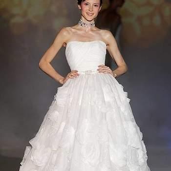 Os vestidos de noiva de Novia D'Art da coleção 2012 unem modernidade e romantismo em modelos para lá de lindos. Veja os modelos e inspire-se!