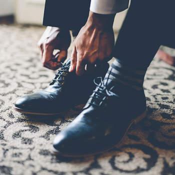 Sapatos Prada. Credits: Gina & Ryan Photography
