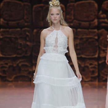 Inmaculada Garcia. Créditos: Barcelona Bridal Fashion Week