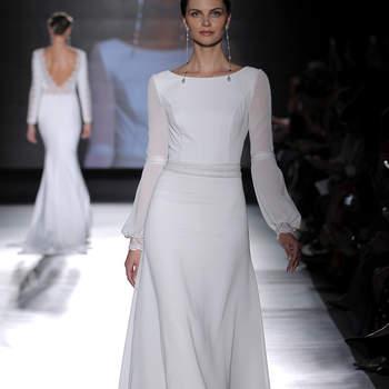Photo : Rosa Clará, Credits_ Barcelona Bridal Fashion Week