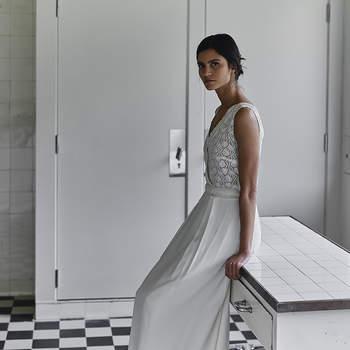 Robes de mariée Laure de Sagazan 2018 : sophistication et élégance au rendez-vous