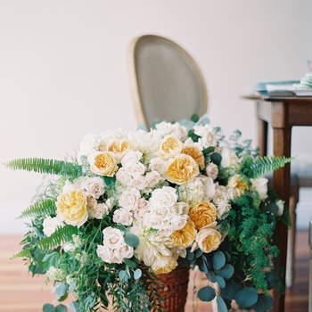 Centro de flores. Credits: Sposto Photography