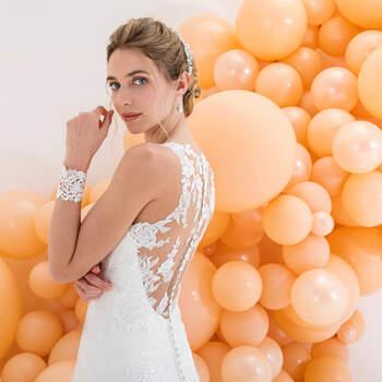 Photo : Eglantine Mariages & Cérémonies, robe Kiss