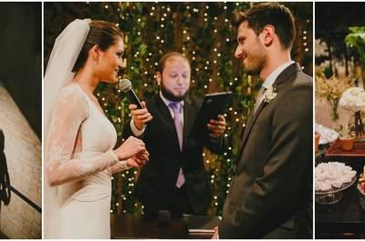 Isabela & Caio: Casamento MEGA chique, charmoso e despretensioso em São Paulo!