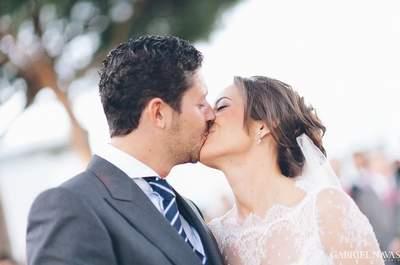 Una delicada novia de Rosa Clará: la boda de Marta y Alfonso