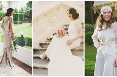 El sueño romántico de una novia con tres estilos diferentes: vuelta a los clásicos