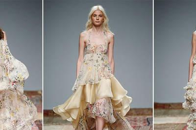 Sceglieresti un abito da sposa con stampe floreali? Qualche idea dalle passerelle internazionali