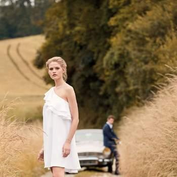 Photo : Elise Hameau, Hazel, 620€ - Printemps Mariage