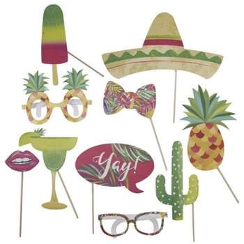 Photo Booth Mexicain 10 Pièces - The Wedding Shop !