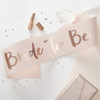 Echarpe Bride To Be - The Wedding Shop !