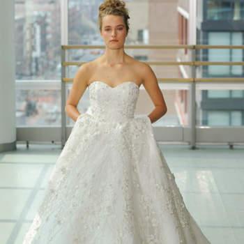 Kleid von Gracy Accad,, Credits:  New York Bridal Week
