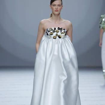 Isabel Sanchis. Credits_ Barcelona Bridal Fashion Week